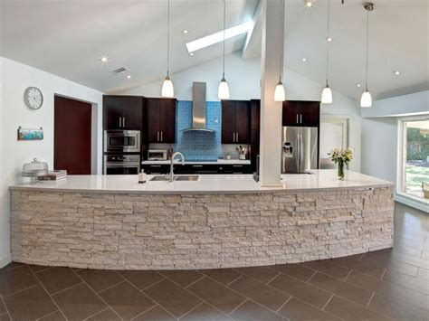 Stone Kitchen Island by Kitchen With Stone Island Cheryl Balintfy Hgtv