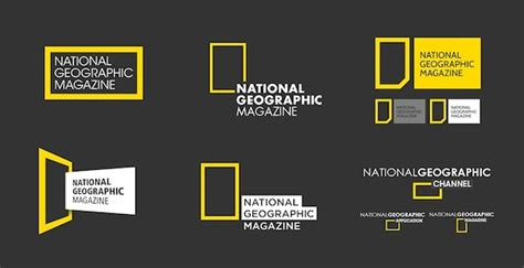 Logo Natgeo New designer rebrands national geographic designtaxi