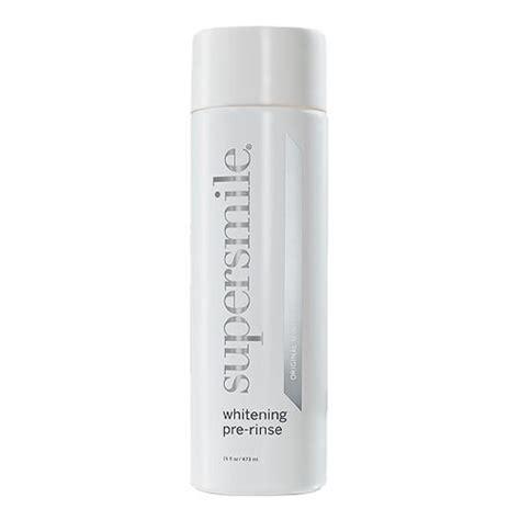 pre rinse supersmile whitening pre rinse 16oz mouthwash