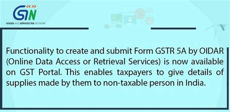 Section 80ee Income Tax by Functionality To Create And Submit Form Gstr 5a By Oidar