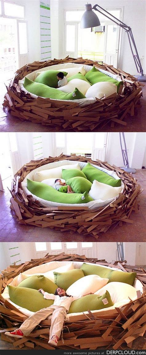 nest beds awesome bird nest bed moose pinterest