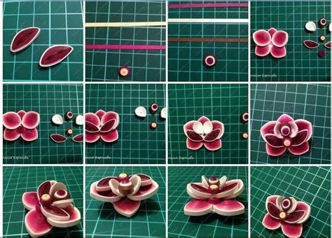 quilling pinterest tutorial flowers quilled flower quilling tutorials pinterest