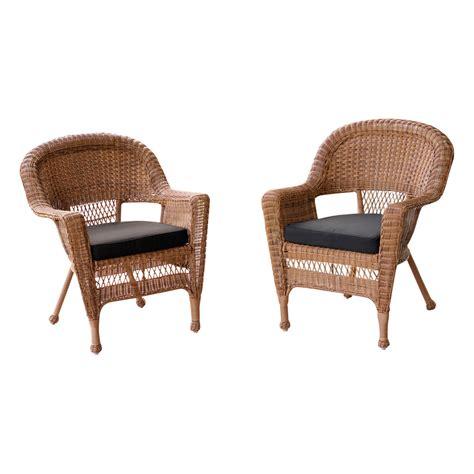 jeco  wicker chair  cushion reviews wayfair