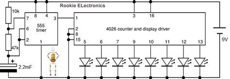 A Slower Speed Of Light Random Led Flasher Rookie Electronics Electronics