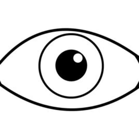 eye free colouring pages