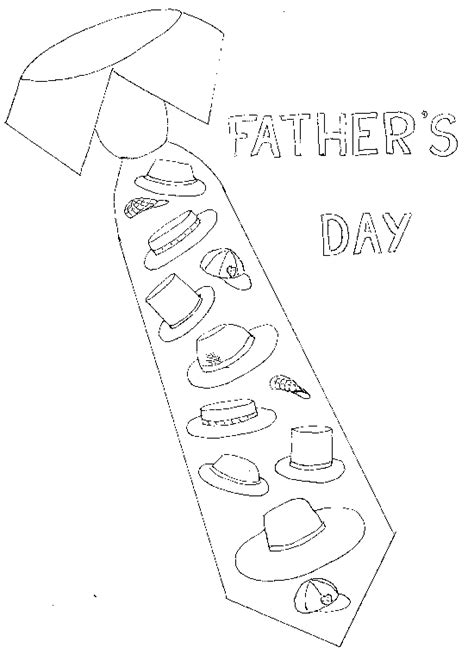 fathers day tie coloring page transmissionpress office tie for father coloring pages