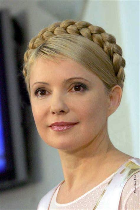 yulia tymoshenko hairstyle tymoshenko ex ukraine pm to go free after 30 months in