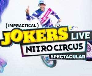Trutv Impractical Jokers Sweepstakes - free impractical jokers nitro circus spectacular house party free product sles