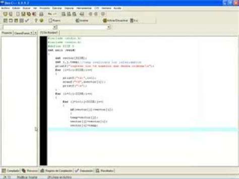 ordenamiento de cadenas en java ordenar un vector tipo char e indica el numero de