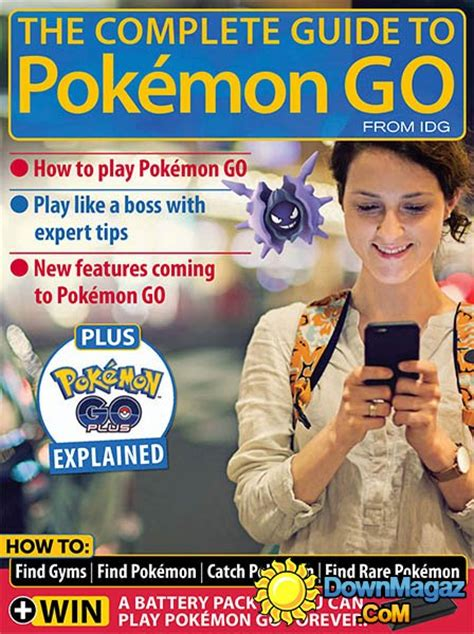 Complete Guide Go Guidepokemon Murah the complete guide to pok 233 mon go 2016 187 pdf magazines magazines commumity