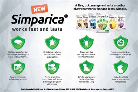 simparica for dogs simparica monthly flea tick tablets for dogs 3 pack