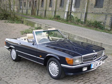 mercedes classic classic chrome mercedes benz 420 sl 1989 g blue dark