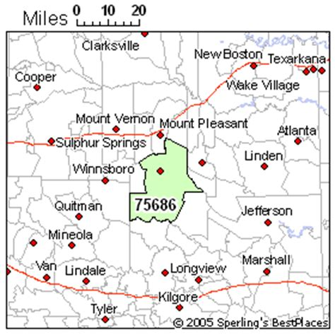 pittsburg texas map best place to live in pittsburg zip 75686 texas