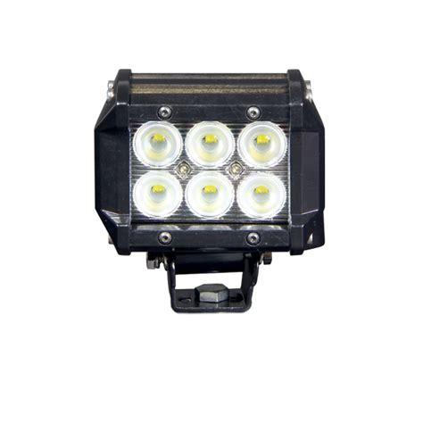 4 Led Light Bar by Defcon Series Led Light Bar 4 Inch 18 Watt All Led