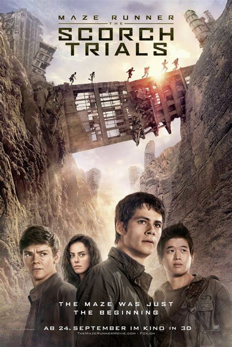 film maze runner cineblog maze runner 2 trailer e clip in italiano poster foto