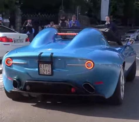 alfa romeo disco volante exhaust alfa romeo disco volante spyder exhaust sound dpccars