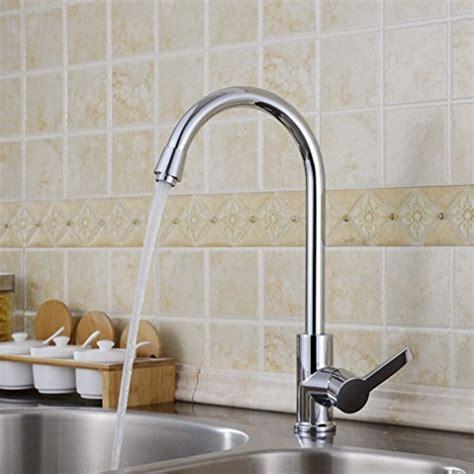 levier de cuisine auralum 174 moderne levier unique robinets de cuisine robinet