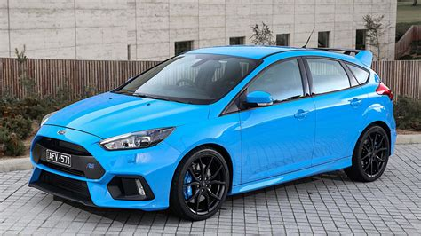 light blue ford focus 2017 ford focus rs specs review and price car awesome