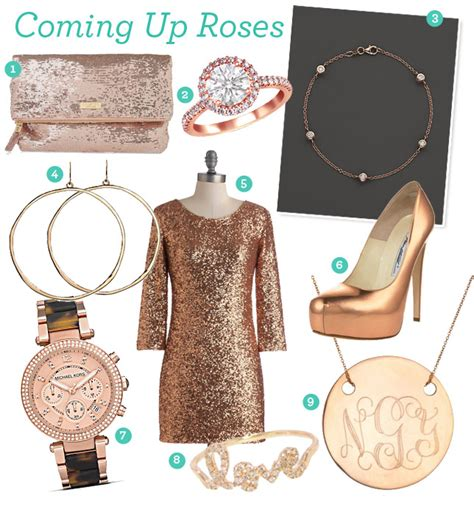 Fabulous Finds: Rose Gold Accessories   Exquisite Weddings