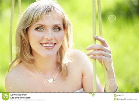 this pretty blond haired middle aged stock photo 86043952 outdoor portrait of a beautiful woman stock image image