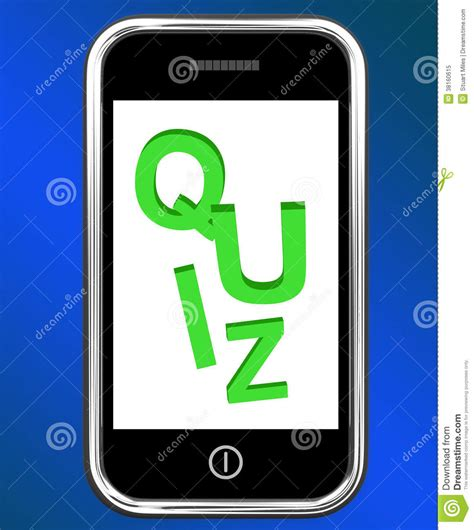 Or Question Phone Quiz On Phone Means Test Quizzes Or Questions Royalty Free Stock Photo Image 38160615