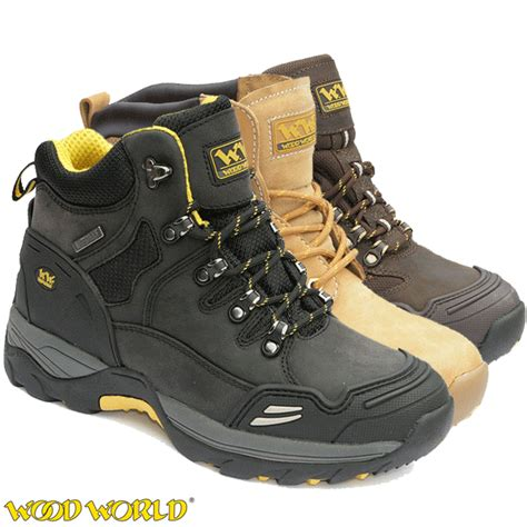 Boots Safety Shoes Kode Wolv02 waterproof safety boots woodworld hiker ww9hi ww11hi