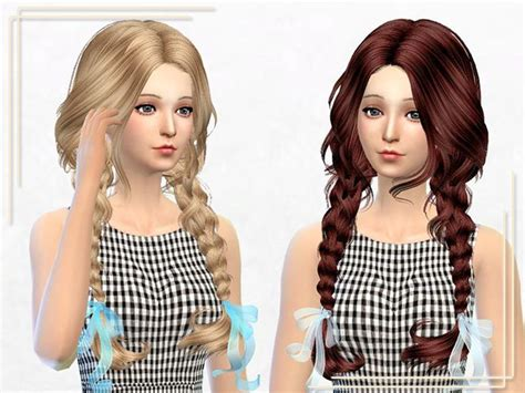 sims 4 kids hair cc 17 best sims4 images on pinterest sims hair sims and