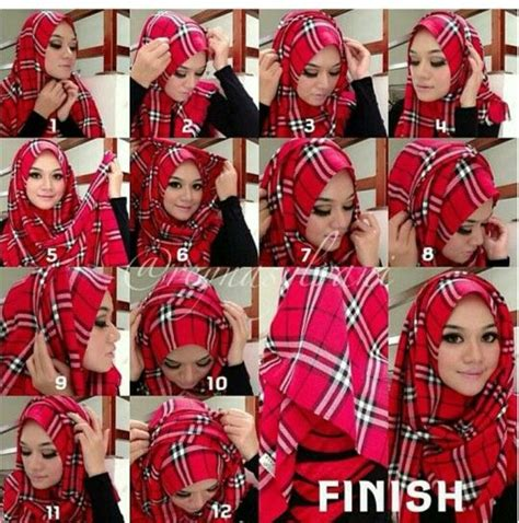 Cara Memakai Jilbab Segi Empat Modern Hair Jilbab Modern Black Hairstyle And Haircuts