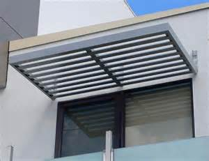 Metal Window Awnings Aluminum Window Slatted Aluminum Window Awnings
