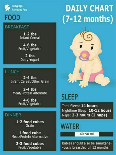 table foods for 10 month 10 month baby food chart