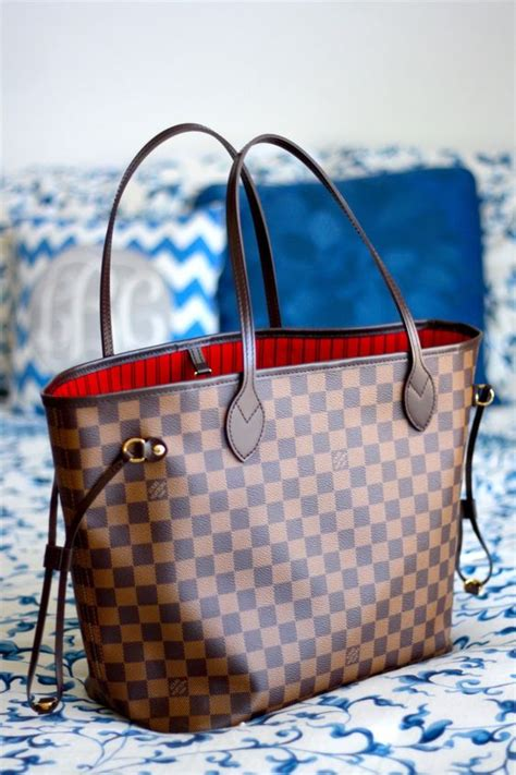 Lv Neverfull Azur Mm Mirror Quality Tote Bag Branded louis vuitton new handbags collection just trendy