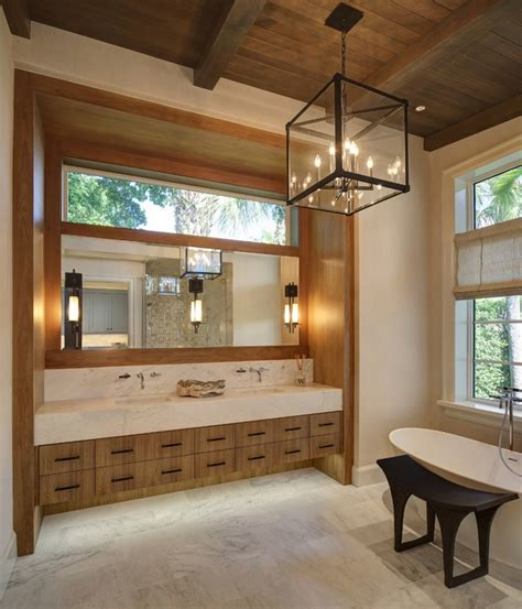 Modern Bathroom Ceiling by Ceiling Beams In Interior Design How To Incorporate Them