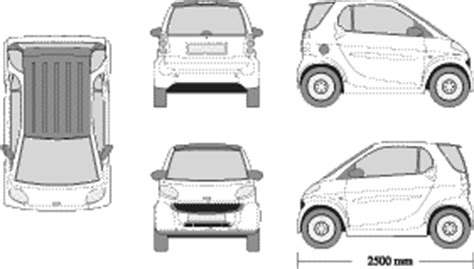 smart car wrap template mr clipart