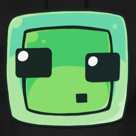 Hoodie Anak Minecraft Icon Kidsapparel minecraft slime hoodie spreadshirt