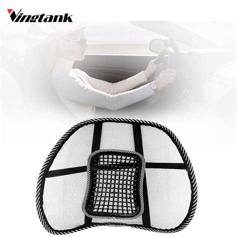 car seat mesh lumbar back brace support cushion vingtank car seat back cushion mesh back brace lumbar