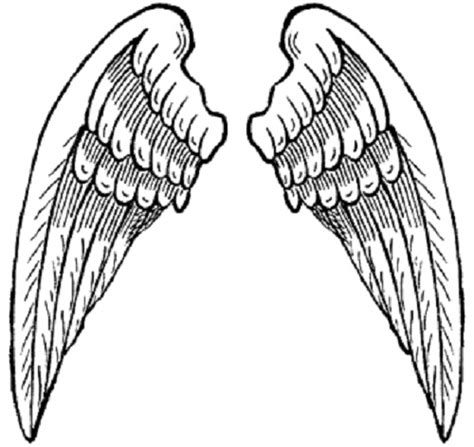 coloring pages of angels with wings hearts with wings coloring pages clipart best