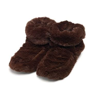 microwavable boot slippers warmers boot slippers chocolate microwavable