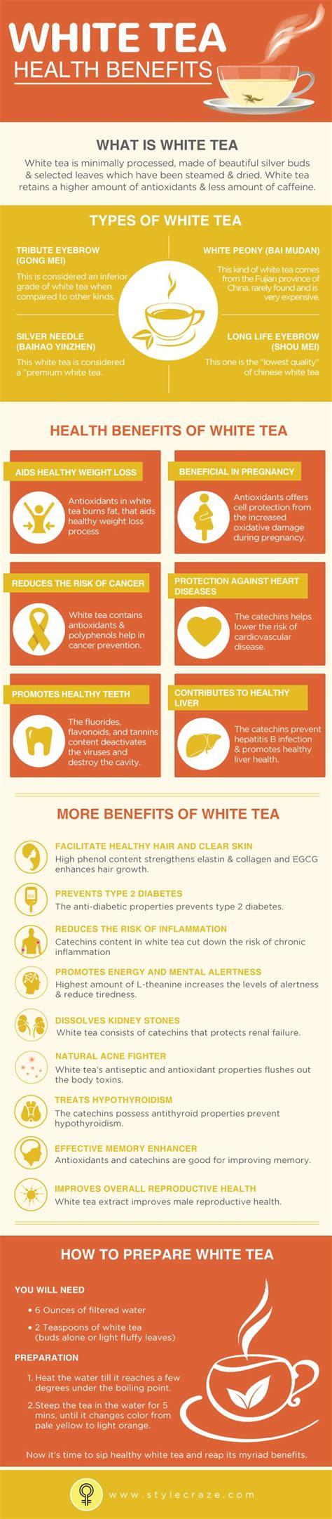 Health King Detoxer Herb Tea Benefits by 25 Best Ideas About White Tea Benefits On