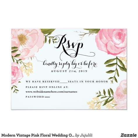 cheap wedding invitations with rsvp under 2 or less emmaline bride