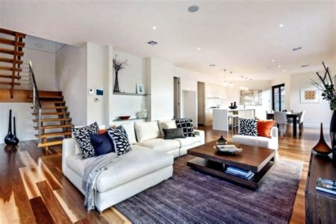 home interior design melbourne modern house in melbourne warm wood tones and neutral