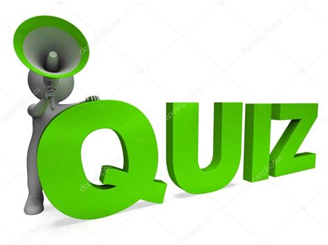Image Quiz by Quiz Character Means Test Questions Answers Or Questioning