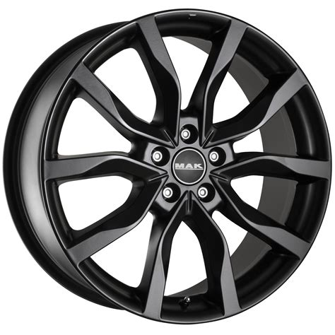 matt rims mak highlands matt black wheelwright alloy wheels