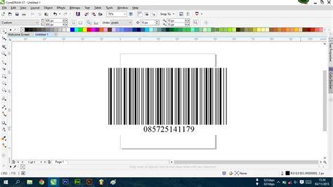 tutorial membuat barcode dengan corel draw cara paling mudah membuat barcode dengan corel draw info