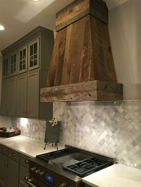 Barnwood ventahood by Anna Berry Design, LLC., www