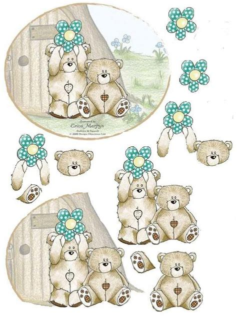 Decoupage Templates - decoupage sheets 3d photo bubbles squeak garden