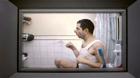johnny english song bathroom johnny english karate skills vs duck bathroom scene