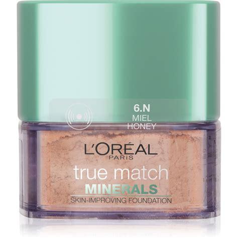 Loreal True Match Mineral l or 201 al true match minerals pudrov 253 make up notino cz