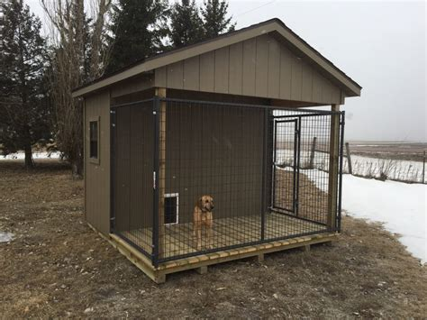 dog kennel quality storage buildings