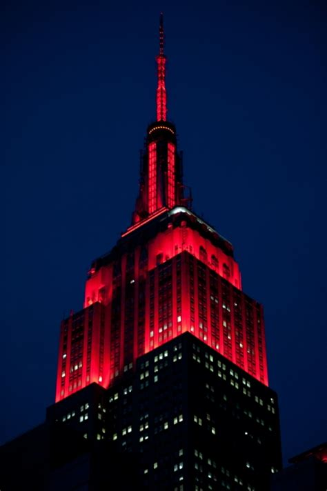 Empire State Building Lights Schedule by Tower Lighting 2016 05 24 00 00 00 Empire State Building