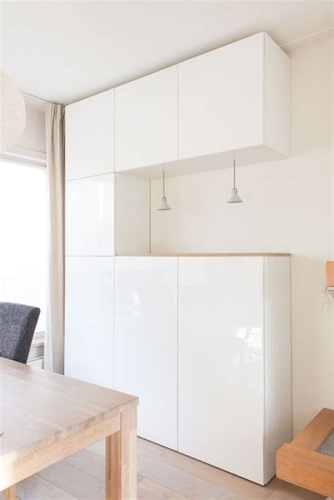 Ikea Kommode Arbeitszimmer by Upgrading Besta With Nordic Diy Design Lighting Glass